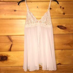 Victoria's Secret White slip